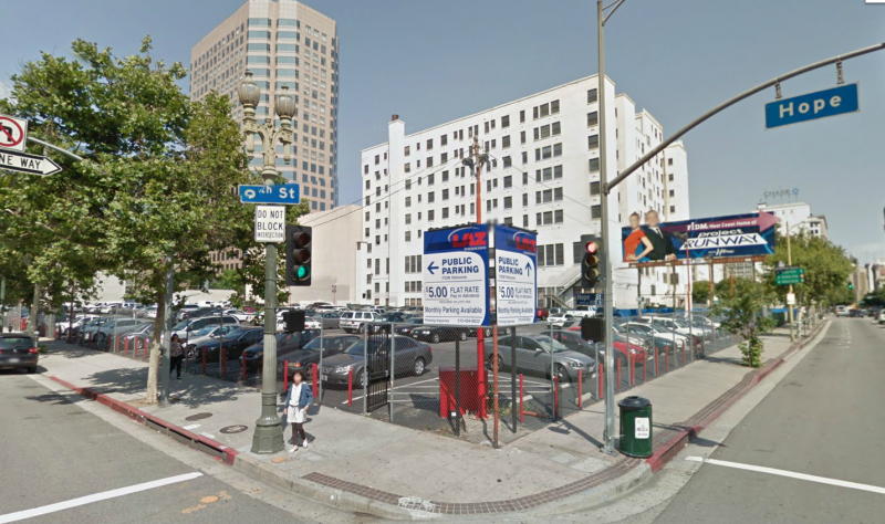 Laz Parking At 850 S Hope St Los Angeles Parking