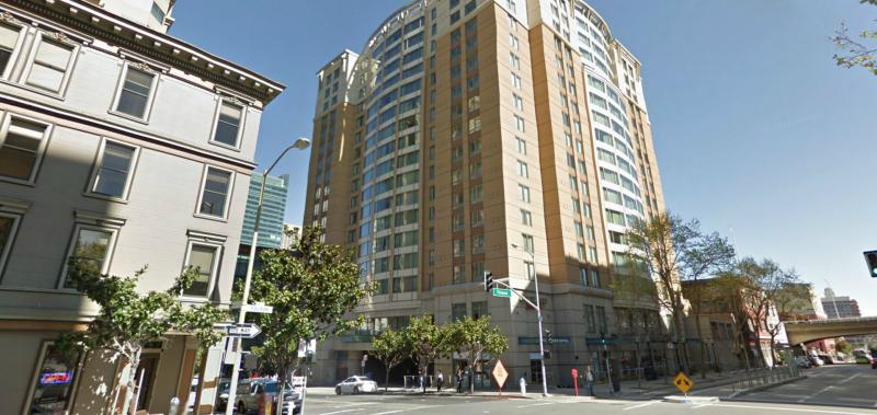 marriott courtyard downtown at 299 2nd st san francisco. Black Bedroom Furniture Sets. Home Design Ideas