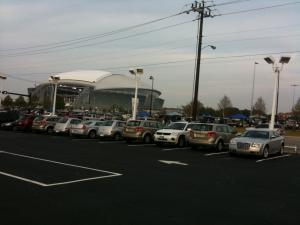 Dollar Car Sales Parking