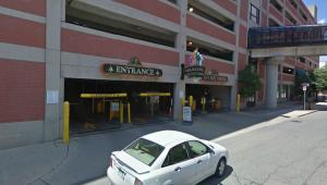 Greektown Self Parking Garage