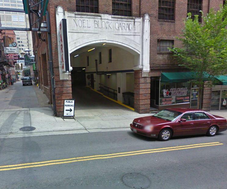Printers Alley Garage At 314 Church St Nashville Parking