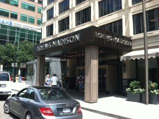 Dupont Circle Hotel Parking Cost