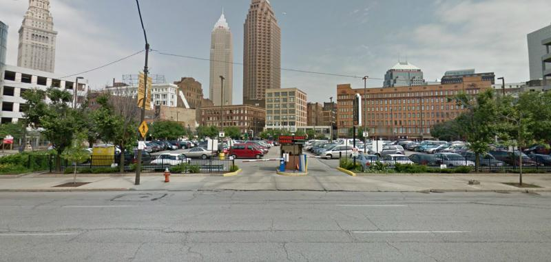 The Q Arena Lot At 501 Huron Rd E Cleveland Parking