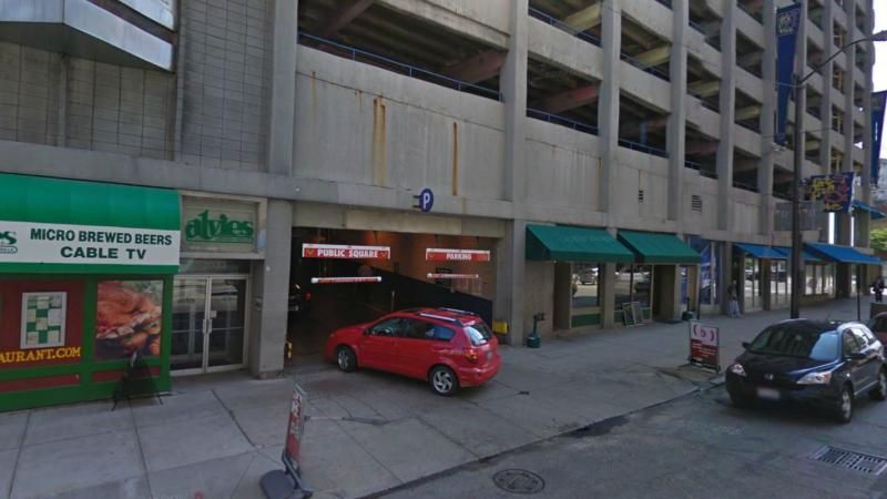 Public Square Garage At 2047 Ontario St Cleveland Parking