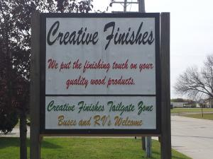 Creative Finishes Tailgate Zone